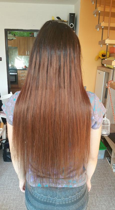Lidské vlasy k prodloužení (tmavě hnědé),