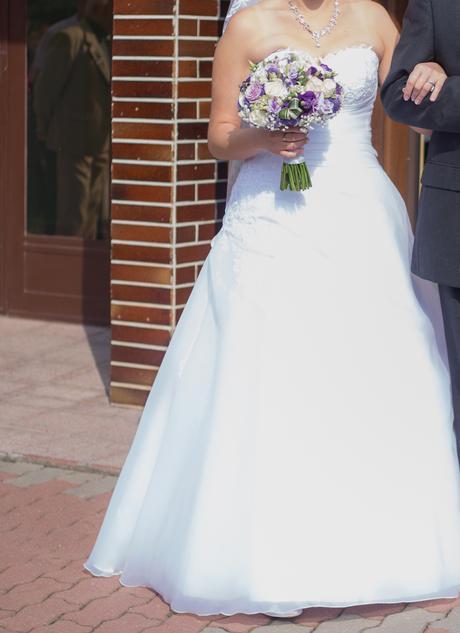 Svatební šaty (vel. 42-44), 42