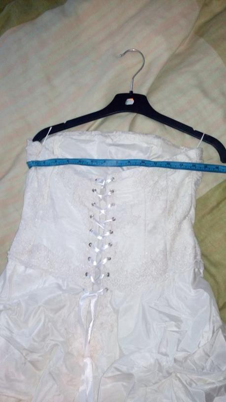 Svatební šaty 44, 40