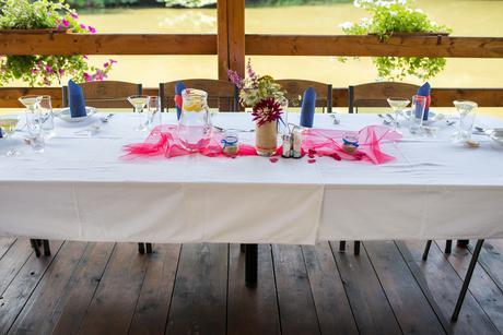 Svatební vázičky a svícny,