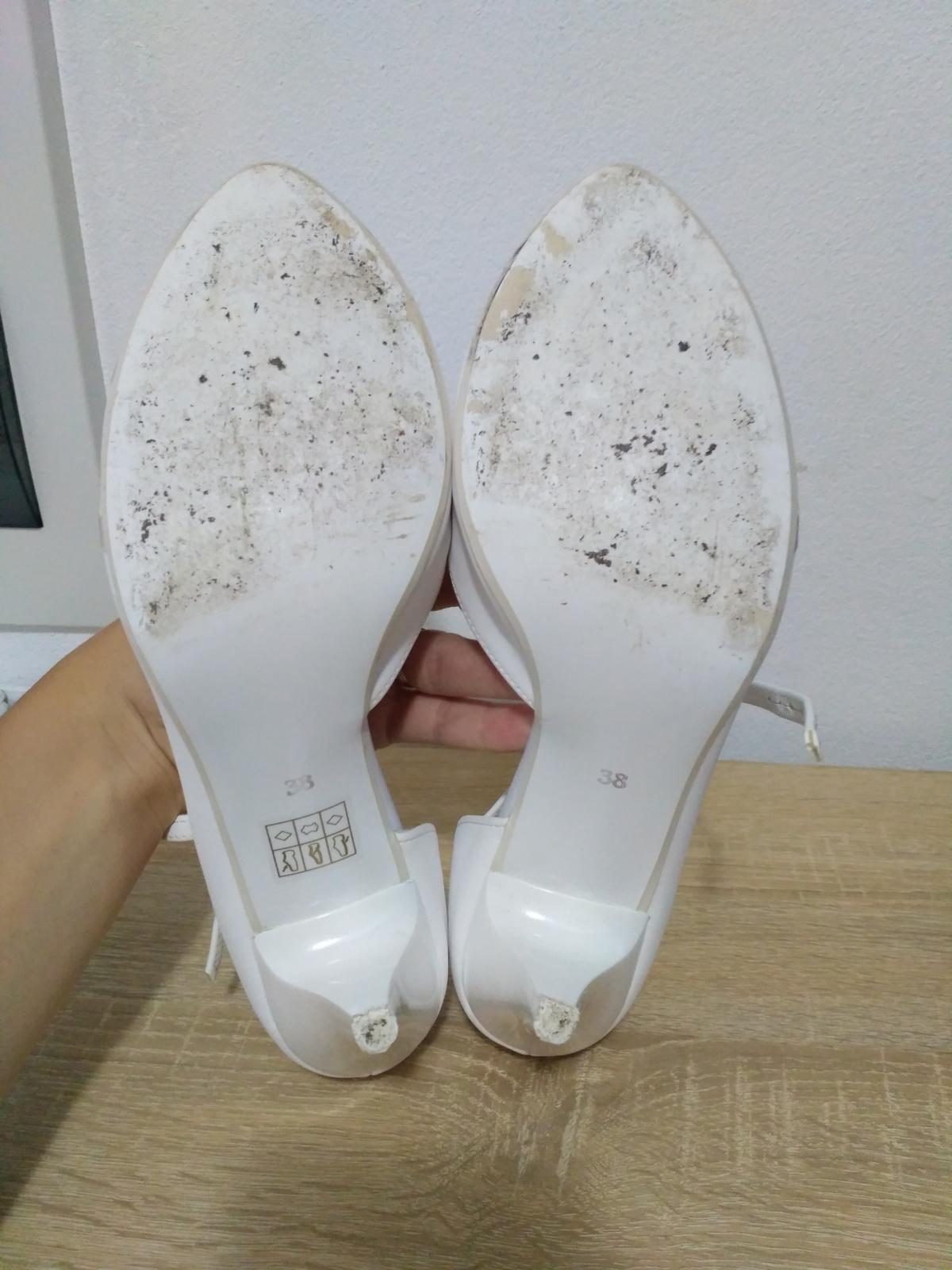 285a60a41144 Elegantné svadobné sandálky