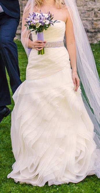 Svatební šaty Vera Wang, originál, 36