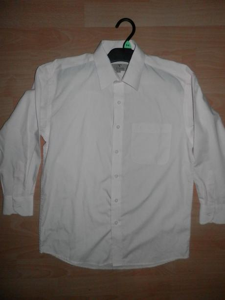 Světlounce růžová košile, 11-12 let, 152
