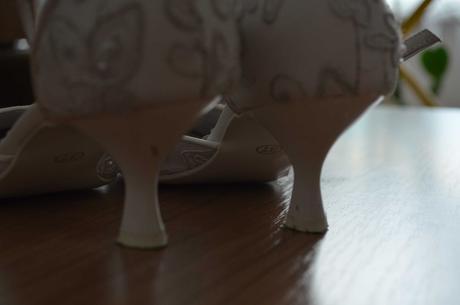 svadobne topanky, 38