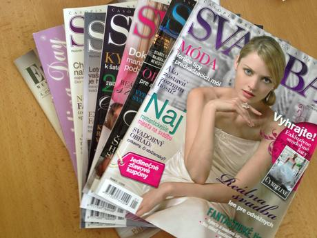 Svadobne časopisy,