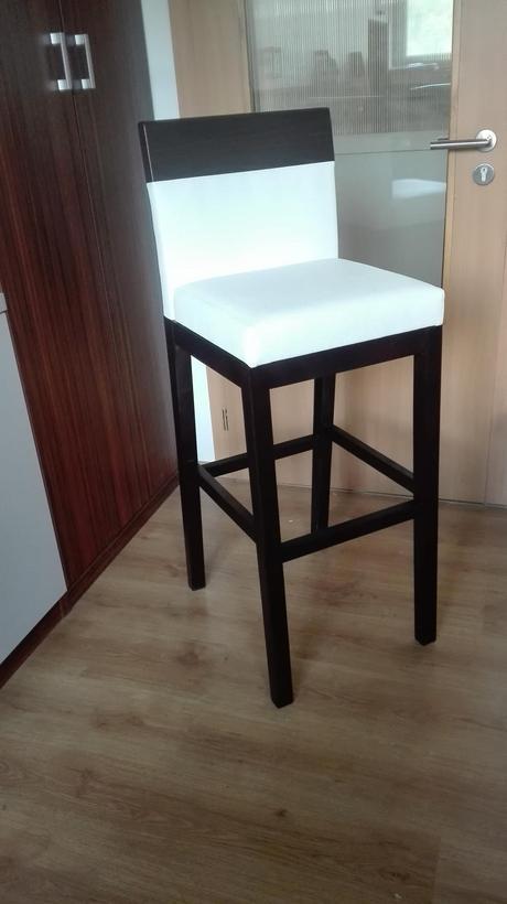 Barová stolička masív 3 ks,