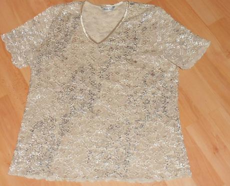 čipkované tričko , 40