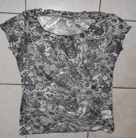čipkované triko , 42