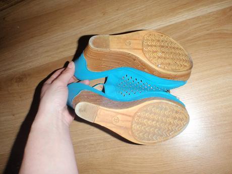 sandale na platforme, 37