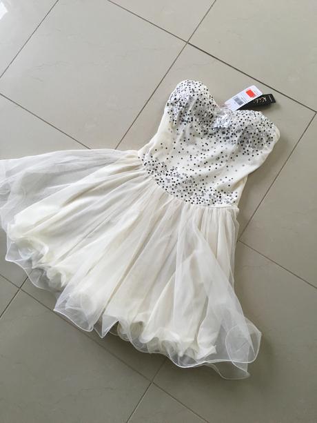 Prekrásne nenosené šaty aj na stužkovú, 36