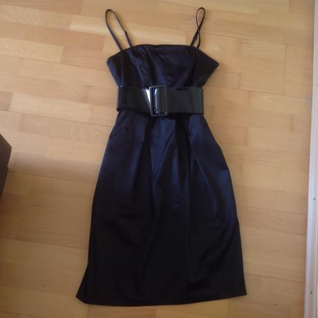 Little black tulip dress, 36