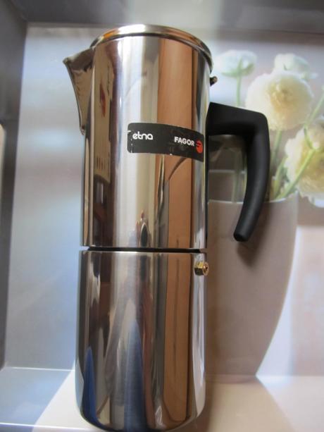 Nepouzivany nerezovy kavovar Fagor Etna 10T ,