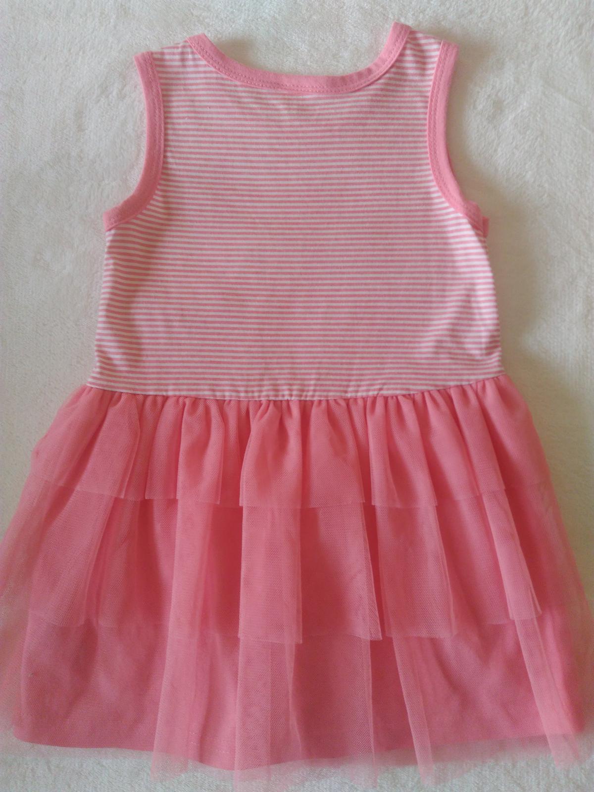 Letní šaty vel. 86 92 (18-24 m) 76b78510fc