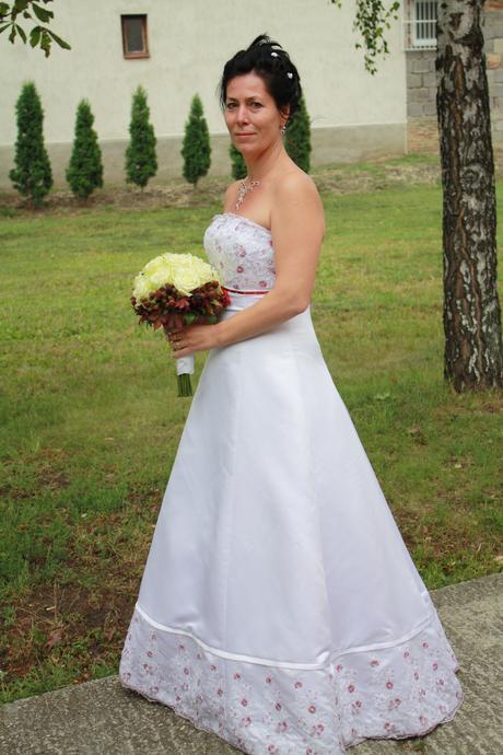 svadobné šaty 38 - 40, 38
