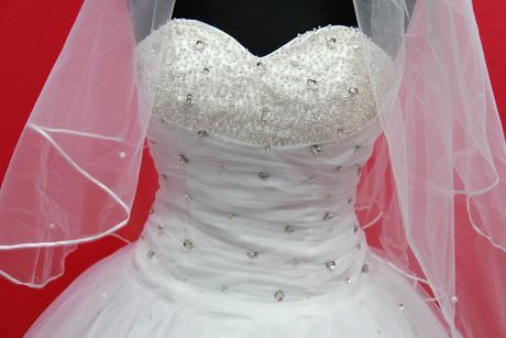 Svatební šaty vel.34-36, 36