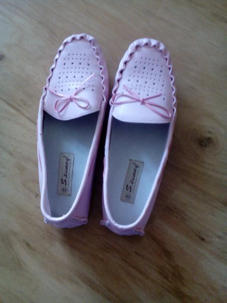 růžové baleríny, 39
