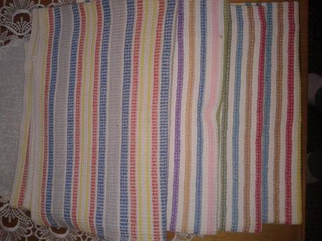 Bavlnené uteráky, 6 ks,