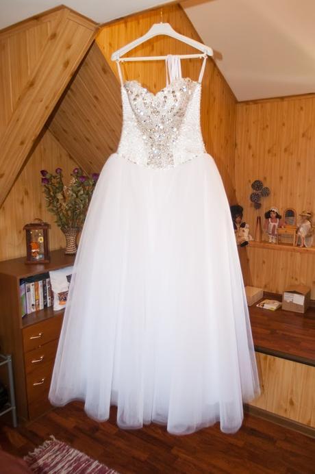 Svadobné šaty, veľkosť 36-38, 38