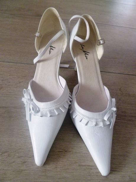 Svatební boty nepoužité vel. 39 , 39