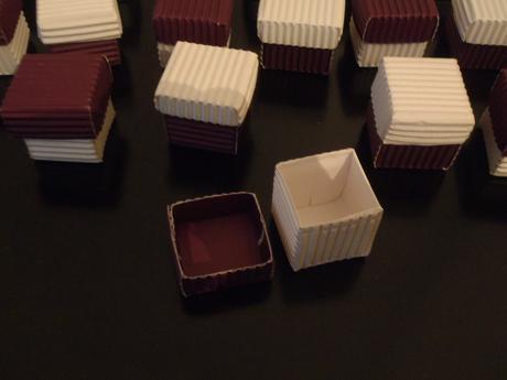 Krabičky např. na dáreček,