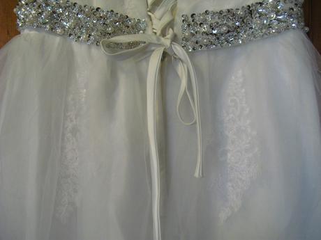 svatební šaty vel. 42-44-46, 44