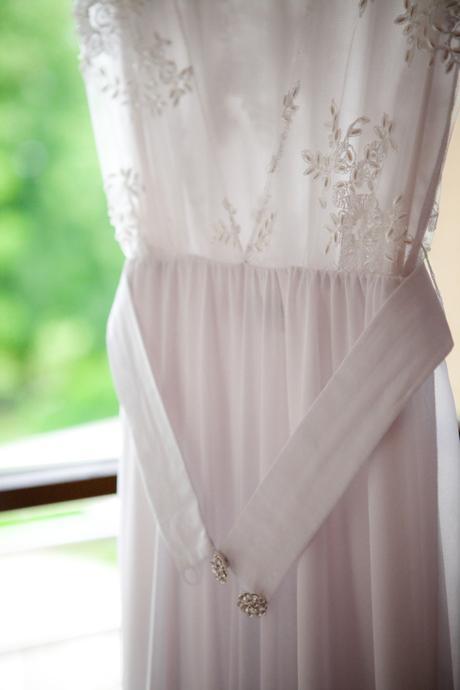 Originální svatební šaty české návrhářky, vel.XS/S, 36