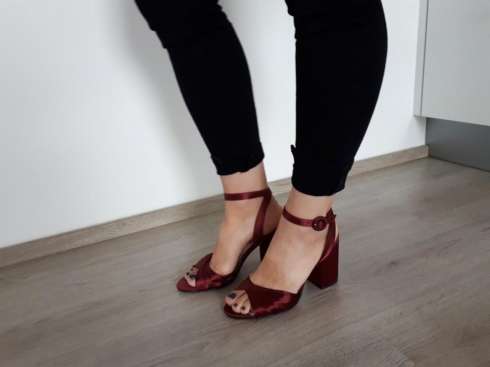 Sandály na podpatku mango- top stav 3905a5f768
