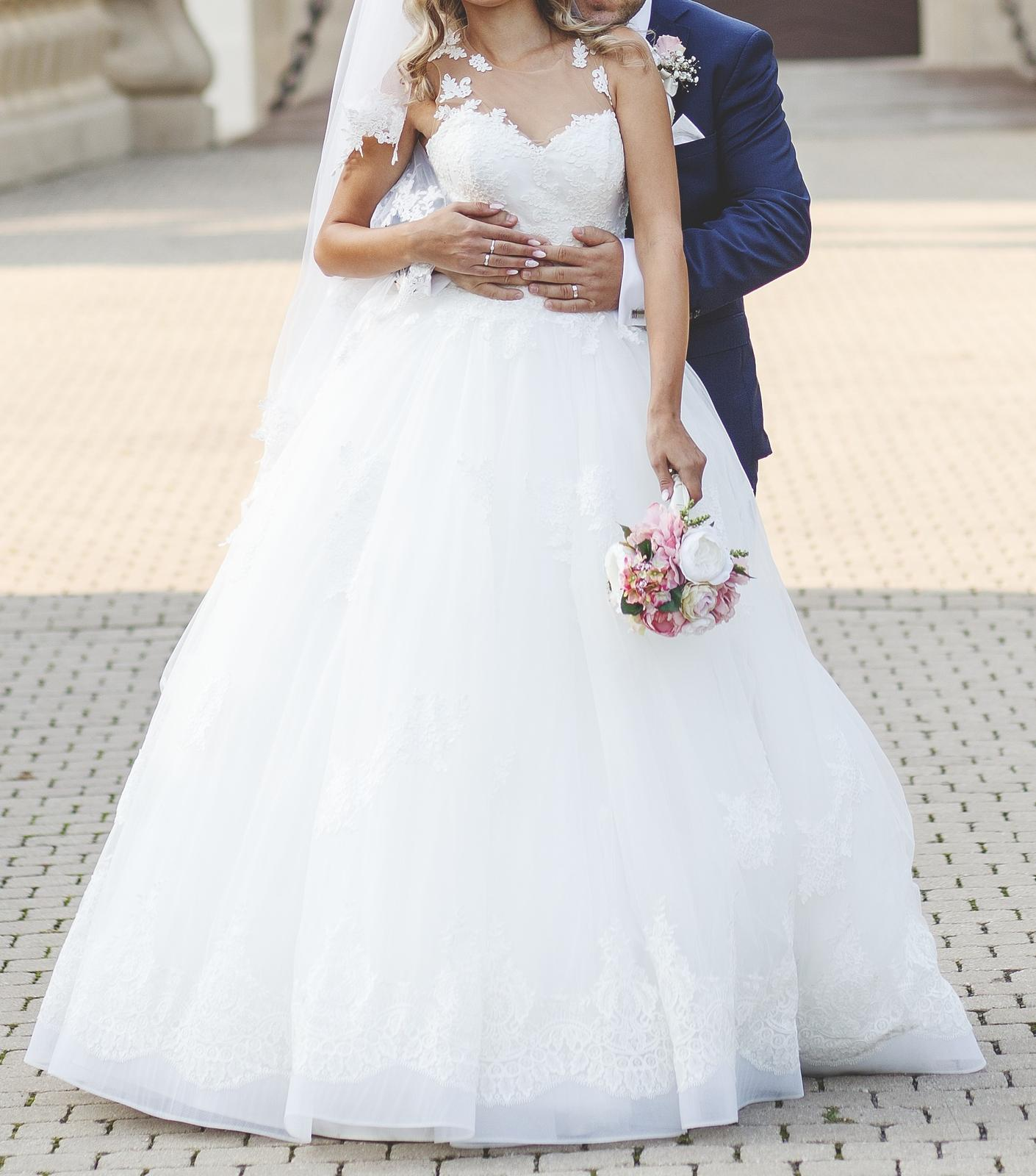 86626b6dfd0c Svadobné šaty ariamo bridal debora