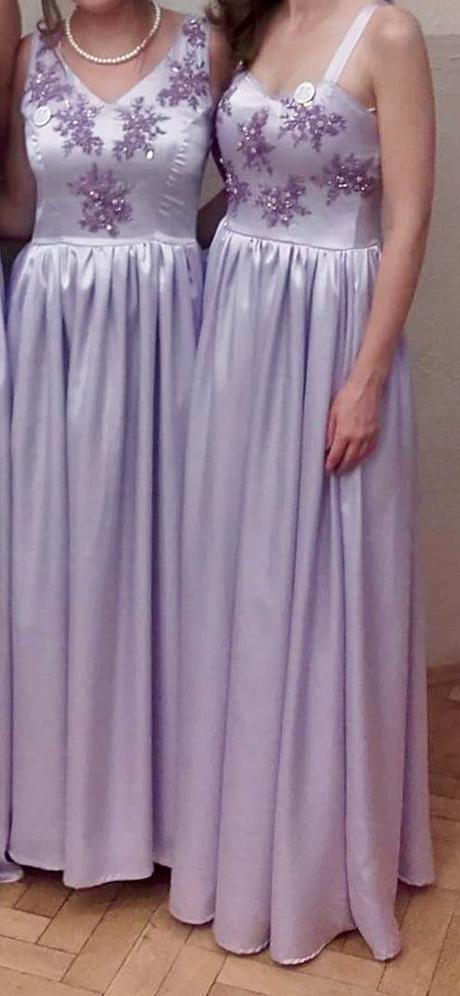 Spoločenské šaty/ šaty pre druzicky, 36