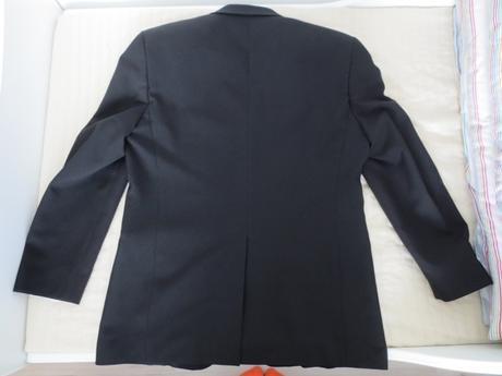 Pánske čierne sako - veľkosť 50, 50
