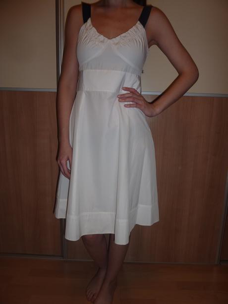Biele šaty RESERVED č.36, 36