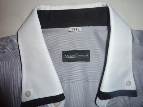Elegantná pánska košeľa Adriano Castellani, 44
