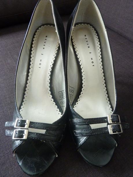 Elegantné topánky s otvorenou špicou, 39