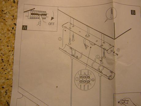 Lampa 5bodová Eglo do obývačky ,