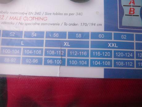 Pracovné nohavice č.56-nenosené,