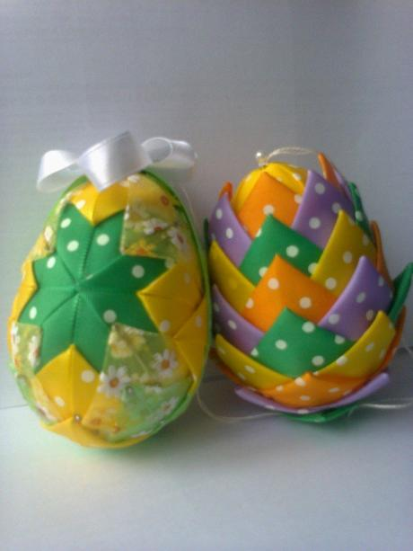 Veľkonočné vajíčka - patchwork,