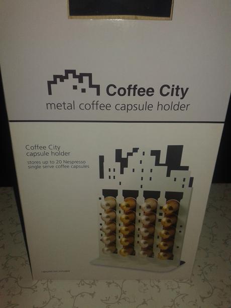Stojan na kávové kapsule,