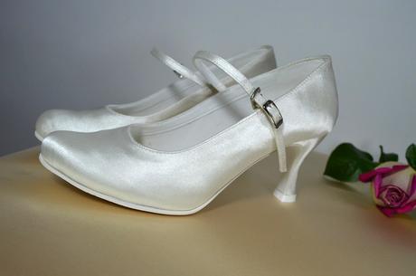 Ivory svatební lodičky - výprodej, 36