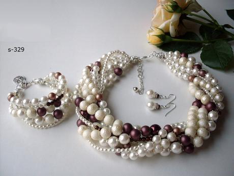 Pravé perly - sada,
