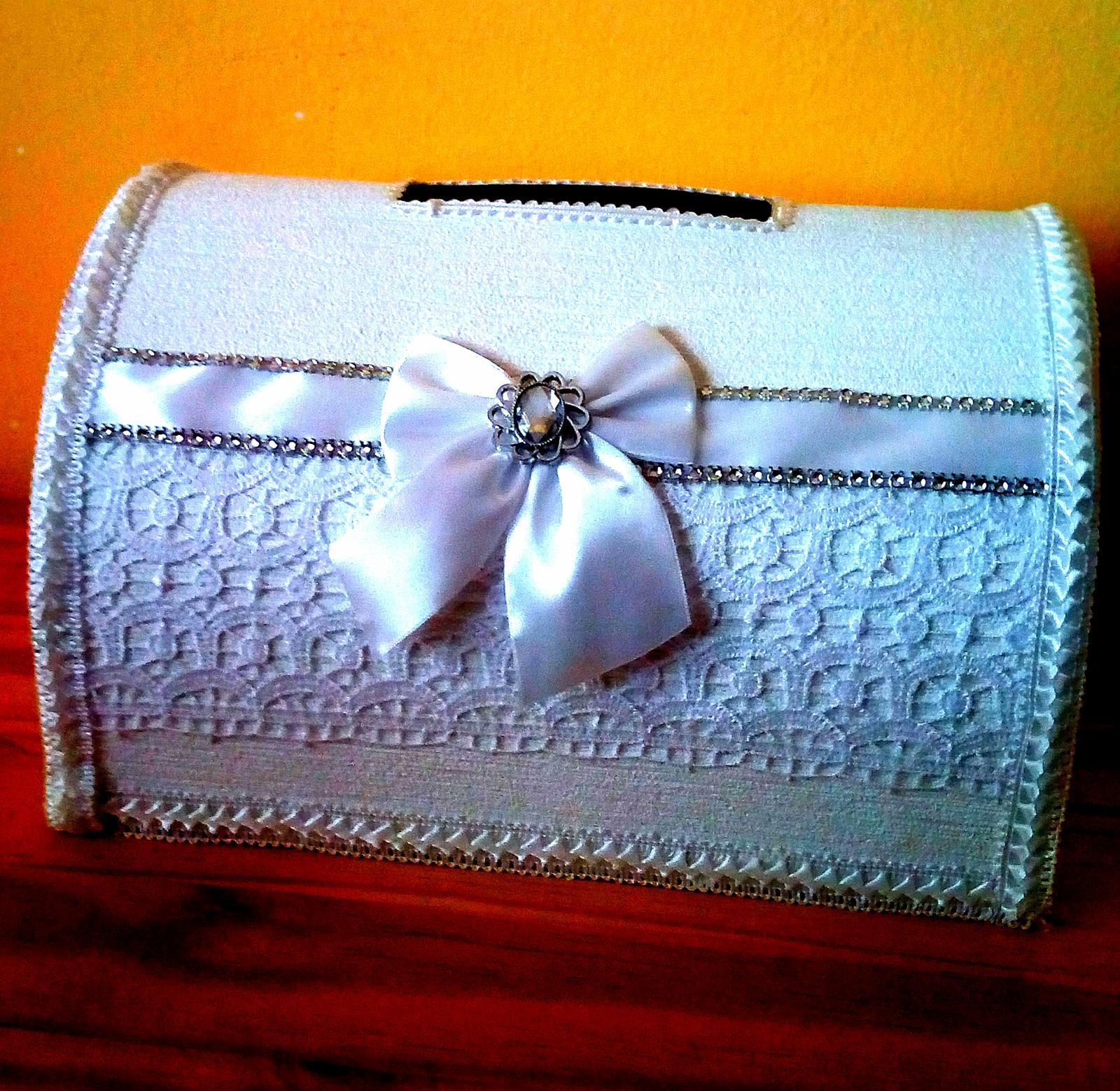 4dc89eabd997 Exkluzivna kabelka na svadobne dary a telegramy
