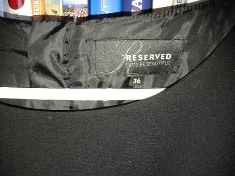 Čierne šaty-nenosene-Reserved, 36