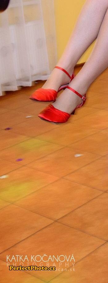 Červené sandále  veľ.39, 39