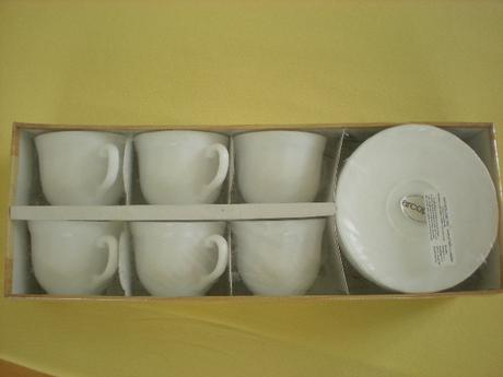 6 ks kávových hrnečků - nepoužívané,