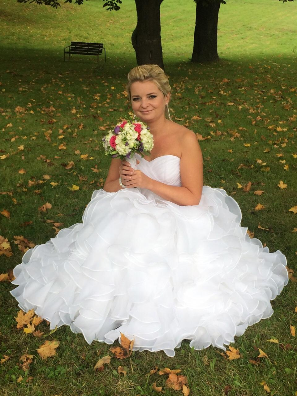 Svadobné šaty na predaj b1b79a9a7fd