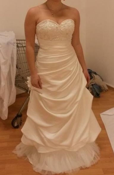 Svatební šaty nenošené, nepoužité, 40