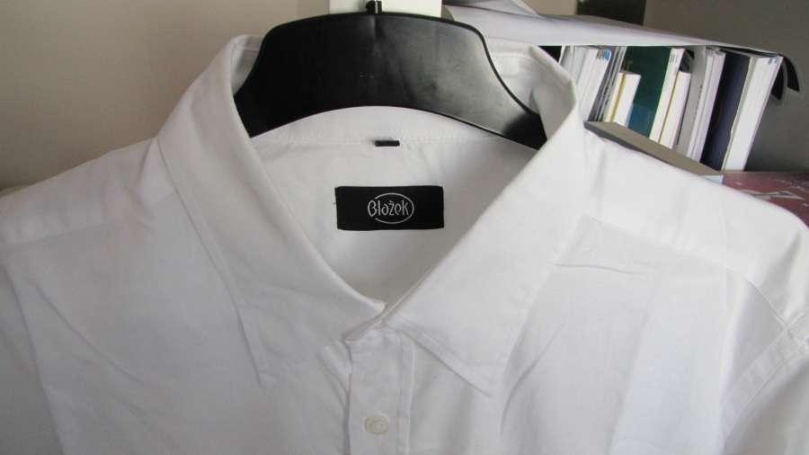 Bílá košile blažek f8e1cbfc17