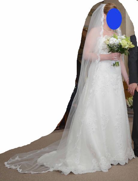 Svatební šaty Daphne Deana (vel. 38-42), 40