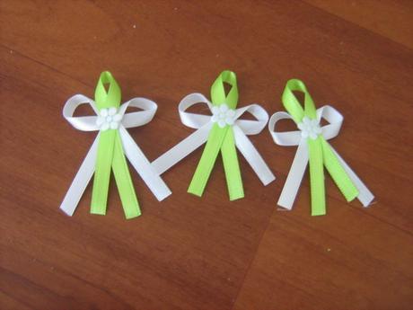 Vintage dekorace na svatbu - zelená + krajky,