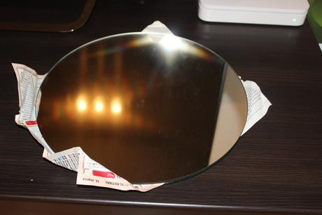 dekoračný podnos zrkadlá - 2 ks,