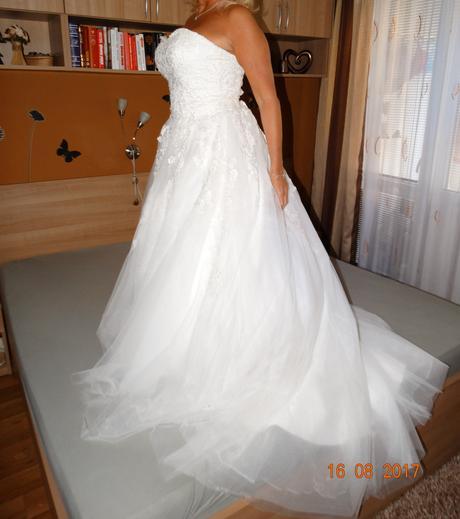 svatební šaty, ivory, vel.38-42, 40